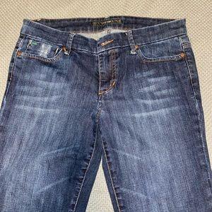 Joes Jeans Provocateur blue denim jeans.